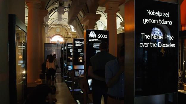 Nobel Museum  Nobel Müzesi, dünyanın en prestijli ödülü olan Nobel Ödüllerini alan kişiler ve kurucusu olan Alfred Nobel'in buluşlarını konu alan bir müzedir. Bu ödüller 1901 yılından itibaren verilmeye başlanmış, tam 100 yıl sonra, 2001 yılında Stockholm Büyük Meydan'ında bulunan eski Borsa Binası'na Nobel Müzesi açılmış.