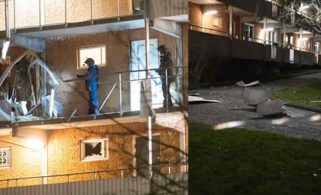 İsveç'in başkenti Stockholm'ün Husby ve Kista bölgelerin gece patlamalar meydana geldi.