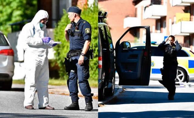 Başkent Stockholm'ün Nynäshamn semtinde bir kişi polis tarafından vurularak öldürüldü.  Edinilen bilgilere göre, gece saatlerinde silahlı olduğu belirtilen bir şüpheliye polis ateş açtı. Açılan ateş sonucu şahsın hayatını kaybettiği belirtildi.