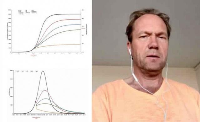 İsveçli matematik profesörü Tom Britton, salgının merkezi olan başkent Stockholm'de koronavirüs yayılımı ile ilgili bir araştırma raporu hazırladı. Matematik profesörüne göre Stockholm'ün üçte birine şuana kadar virüs bulaşmış durumda.  Tom Britton'ın modelleri, enfeksiyonun birkaç gün önce zirveye ulaştığını söyledi.