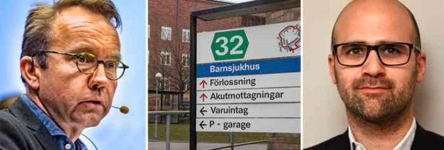 """Koronavirüs salgının merkezi olan başkent Stockholm'de ağır hasta çocukların operasyonlarının ertelenmesi ve çocukların tedavi edildiği acil servislerin kapatılması ile ilgili karara çocuk doktoru Mikael Finder'den sert tepki geldi.  Çocukların tedavisini pandemi ile mücadelenin gerisine atmak kabul edilemez.  Astrid Lindgren Çocuk Hastanesi'ndeki doktorlar ve hemşireler, Stockholm Bölgesi'nin acil durum hazırlıklarını sert bir şekilde eleştiriyor.  Çocuk doktoru Mikael Finder, """"çocukları daha önce hiç yapmadığımız bir şekilde risklere maruz bırakıyoruz"""" dedi."""