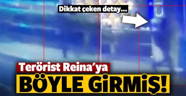 Reina'da düzenlenen terör saldırısında 39 kişi hayatını kaybetti, 65 kişi yaralandı. Güvenlik kamerasına yansıyan görüntülere göre terörist ateş açarak Reina'ya girdi.