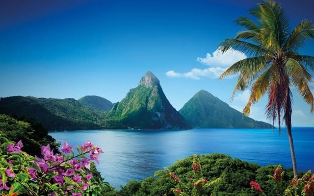 Saint Lucia  42 gün vizesiz.