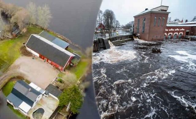 İsveç'te kış boyunca aşırı yağış nedeniyle suların yükselmesi sorun olmaya devam ediyor.  Birçok bölgede yükselen sular sel taşkınlarına neden olurken, SMHI uzmanları daha etkili yağışlarla ilgili uyarılarda bulundu.