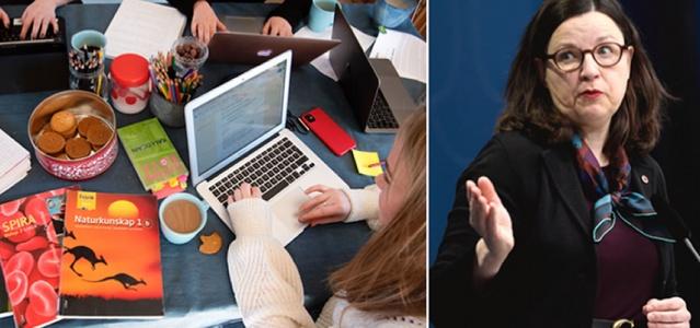 İsveç Eğitim bakanı Anna Ekström bazı liselerin açılabileceğini belirtti.  Eğitimin aksatılmaması açısından küçük gruplar halinde olabileceği şekilde liselerin açılabileceğini belirten eğitim bakanı Anna Ekström şunları söyledi.