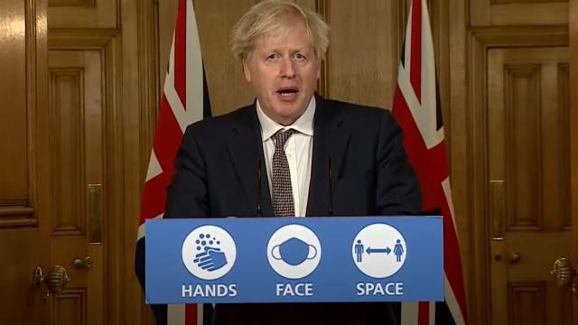 İngiltere Başbakanı Boris Johnson, başkent Londra dahil ülkenin güneydoğusunda son dönemdeki vaka artışlarının mutasyon geçirmiş yeni koronavirüs türünden kaynaklandığını açıkladı.  Johnson, eldeki ilk verilere göre, tespit edilen bu yeni türün eskisine kıyasla yüzde 70'e varan oranlarda daha bulaşıcı olabileceğini belirtti.