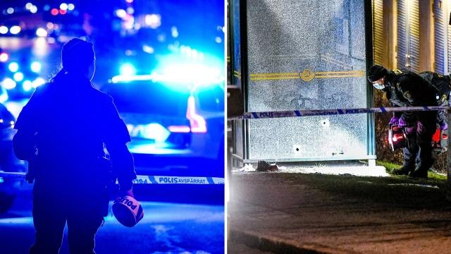 """Polis, Stockholm'ün batısındaki Vällingby'de bir kişiyi vurarak öldürdü.  Edinilen bilgilere göre, olay Cumartesi akşamı saat 21.30 sıralarında yaşandı.  Bir görgü tanığı, """"İlk başta kim olduklarını merak ettim. Sonra ateş eden kişilerin sivil polis olduğunu anlamadım"""" dedi."""
