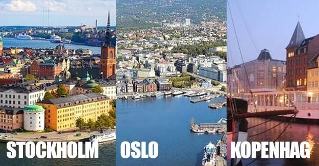 """Alman Deutsche Bank, """"Haritayla Dünya Fiyatları"""" araştırması kapsamında dünyada çalışanların en fazla para kazandığı şehirleri sıraladı. Bu çalışmaya göre Stokholm, Oslo ve Kopenhag şehirleri maaşların en yüksek olduğu şehirler listesinde yerini aldı. İşte maaşların en yüksek olduğu şehirler..."""