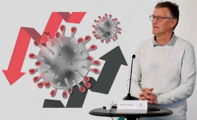 """İsveç'teki salgının merkezi olan başkent Stockholm ile ilgili uzun zamandır farklı görüşler hakimdi.   Devlet epidemiyoloğu Anders Tegnell Stockholm'deki enfekte kişi sayısı ile ilgili yaptığı açıklamada gelecek haftaya kadar başkentte yaşayan insanların üçte birine bulaşmış olmasını bekliyoruz dedi. Bu rakam 700 bin üzerinde insanın enfekte olduğu anlamına geliyor.  Devlet epidemiyoloğu Anders Tegnell, """"Şimdiye kadar aldığımız endikasyonlar bunu gösteriyor"""" dedi."""