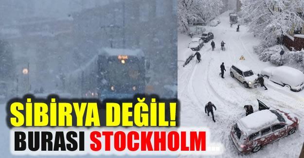 İsveç'te yoğun kar yağışı ve gizli buzlanma ulaşımı felç etti. Yaşanan ulaşım sorunu nedeniyele bazı vatandaşlar yoluna bisikletle devam etti. İşte o görüntüler.