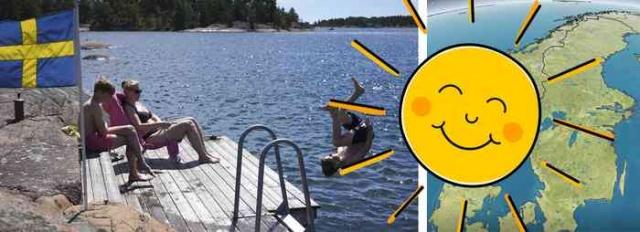 """SMHI, Svealand ve güney Norrland'ın bu hafta sonu iyi güneşlenme şansı var dedi.  Meteorolog Moa Hallberg, istatistiksel olarak, bu hafta sonunun son güneşli haftasonu olabileceğini söyledi.  Hafta sonu ve gelecek haftanın başı, yaz güneşini içinize çekmek için son şansınız olabilir.  Hallberg, """"Gelecekte beklememiz gereken soğuk ve istikrarsız bir hava var. Ancak yinede bazı günlerde güneşi görmek mümkün olacak"""" diyerek, haftasonu ve pazartesi gününün güneşli geçebileceğini belirtti."""