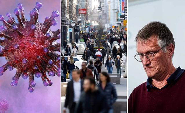 """İsveç'te adı konmayan, ancak İsveç stratejisi olarak dünya çapında tepkilerle nam salmış sürü bağışıklığı modeline İsveçli araştırmacılardan sert tepki geldi.  Sürü bağışıklığı konusunda 22 araştırmacı: """"Gerçekçi olmayan bir stratejidir"""" dedi."""