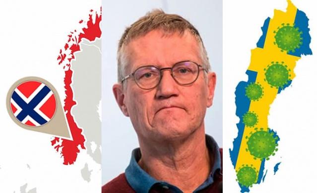 İsveç'te şuana kadar resmi rakamlara göre vaka sayısı 7 bin 693 ve 591 kişi koronavirüsle nedeniyle hayatını kaybetti. Koronavirüsle daha sert önlemler alarak mücadele eden komşu Norveç'te vaka sayısı 5 bin 866 ve hayatını kaybeden sayısı 78 kişi. Norveç'te ölü sayısının az olması ve İsveç'te sayının çok yüksek olması nedeniyle eleştirilen Halk Sağlığı Kurumu eleştiri almaya devam ediyor.