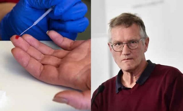 İsveç'te son zamanlarda özel sağlık kliniklerindeki Covid-19 test yaptıran insanlarının artması üzerine konuyla ilgili Halk Sağlığı Kurumu Devlet Epidemiyoloğu Anders Tegnell'e testlerle ilgili sorular yöneltildi.