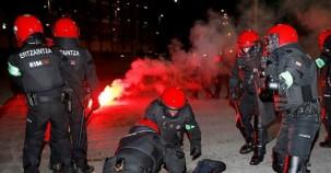 İspanya'da holiganlara müdahale eden bir polis memuru öldü