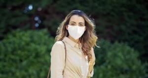 Koronavirüsü 'etkisizleştiren' ilk maske geliştirildi
