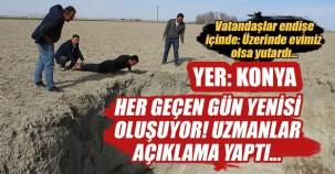 Konya'da korkunç görüntüler
