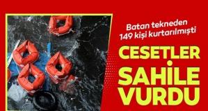 Göçmenlerin cesetleri Avrupa kıyılarına vurdu