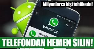 Dikkat! Sahte WhatsApp indirmiş olabilirsiniz