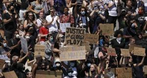 ABD'deki protestolar, İngiltere'ye de sıçradı!