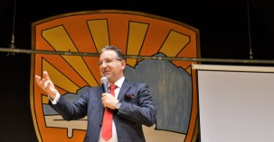 Stockholm'de Karataş konferansına yoğun ilgi