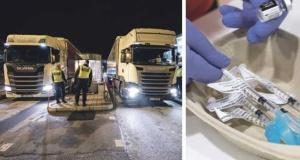 Danimarka, İsveç'e gönderilen tıbbi malzemelere el koydu