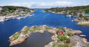 En iyi 5 Adanın biri İsveç'te diğeri Norveç'te
