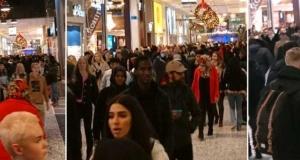 Alışveriş çılgınlığı virüsü unutturdu