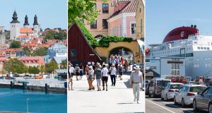 Visby son yılların en büyük kalabalıklarını yaşıyor