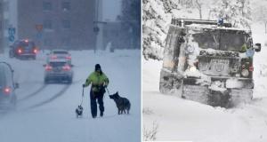 """İsveç buz kesti! Polis: """"Mecbur değilseniz dışarı çıkmayın"""""""