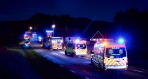 Akşam meydana gelen feci kazada yaralanan 3 kişi de hayatını kaybetti