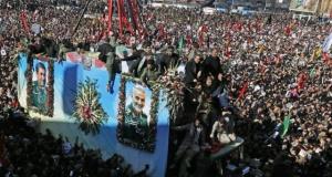 Süleymani'nin cenaze töreninde çıkan izdihamda 56 ölü yüzlerce yaralı!