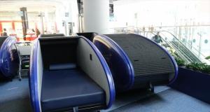 İstanbul Havalimanı'nda uzun bekleyen yolcular için uyku kabini hizmeti başladı