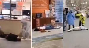 Ölümcül Virüse yakalananlar sokak ortasında yere yığılıyor
