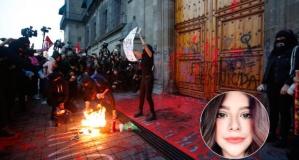 Katledilen kadın için ülke ayağa kalktı. Hükümet binalarını ateşe verdiler