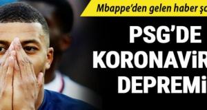 PSG'nin yıldız futbolcusu Kylian Mbappe'de koronavirüs şüphesi!