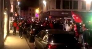 Ermeni protestosunda 4 Türkün yaralanması sonrası Türkler sokağa indi