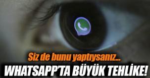 Whatsapp'ta tehlikeli güvenlik açığı!