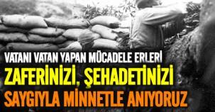 TSK'dan Çanakkale Zaferi'ne ilişkin fotoğraflar