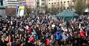 İsveç'te 23 Nisan Ulusal Egemenlik ve Çocuk Bayramı kutlaması