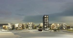 Rinkeby teras evleri oldukça iddialı