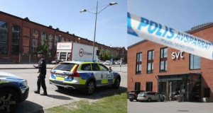 SVT binasını polis kuşattı
