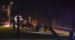 Stockholm'da hareketli gece:  Bir kişi öldürüldü