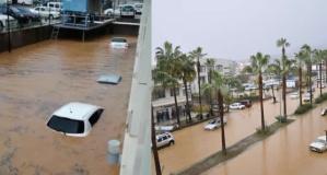 Türkiye'nin Turizm şehri sular altında kaldı
