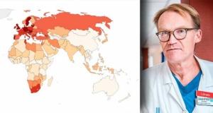 İsveç, Covid-19 nedeniyle en yüksek ölüm oranına sahip 6 ülkeden biri