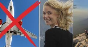 Dünyayı uçmadan dolaşan gezgin kız İsveç'te mola verdi