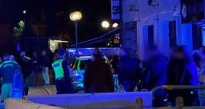 Gece kulübü önünde saldırı bir kişi ağır yaralandı