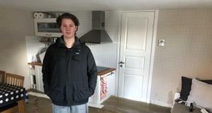 İsveç'te 20 evi su bastı. İsveçli genç tsunami diye bu görüntüleri paylaştı