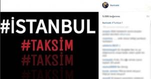 İstanbul terör saldırısına ünlülerden sosyal medyadan anında tepki