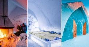 Dünyanın en iyi beş kar ve buz oteli